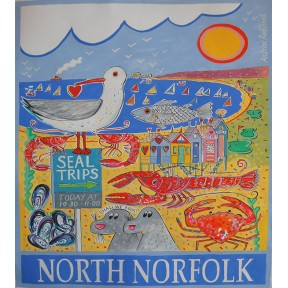 North Norfolk Poster. A3.