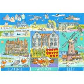Blakeney, Wiveton, Cley, Norfolk