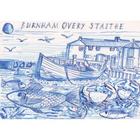Burnham Overy Staithe. Norfolk.A4.