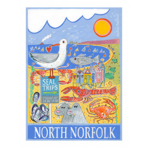 North Norfolk poster.