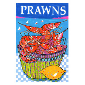 Prawns in a Bowl
