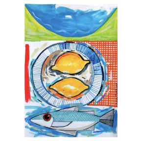 Two Lemons and Sea Bass