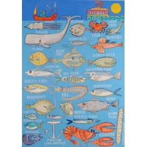 Undersea Alphabet (A4)