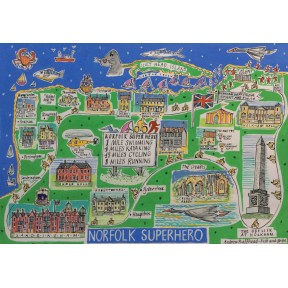 Map.Norfolk Super Hero.A3.