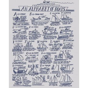 An Alphabet Of Boats. A3