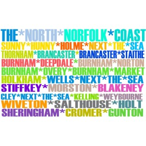 North Norfolk Places Print